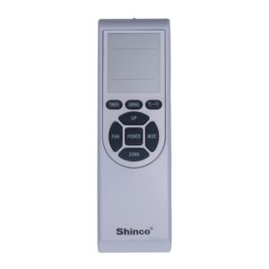 Shinco SPS5 Portable air conditioner remote control